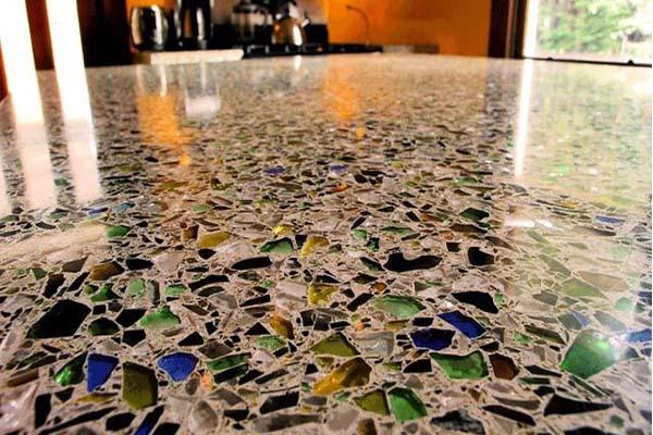 بتن شیشه ای Glass Concrete