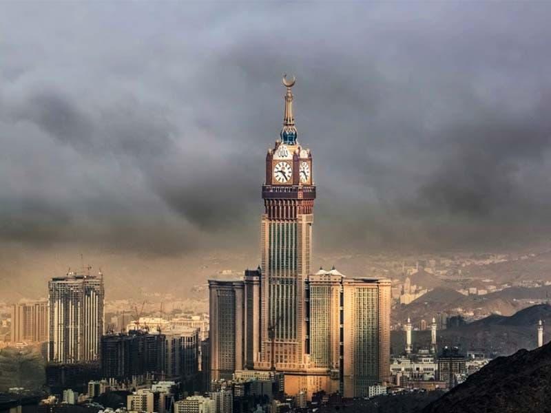 بلندترین سازه های جهان - برج ساعت مکه